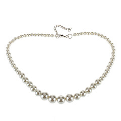 Tower Shape Pearl Necklace