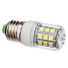 E26/E27 30 SMD 5050 360 LM Natural White LED Corn Lights AC 110-130 / AC 220-240 V