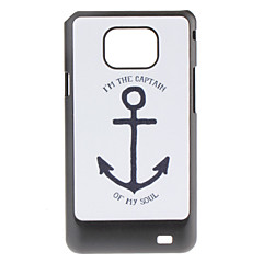 Anchor Pattern Hard Case för Samsung Galaxy S2 I9100