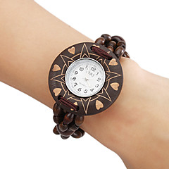 Women's Wood Analog Quartz Bracelet Watch (Brown) Cool Watches Unique Watches
