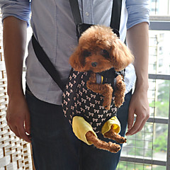 padrão lindo bowknot mochila frente transportadora animal de estimação para cães (s-xl)