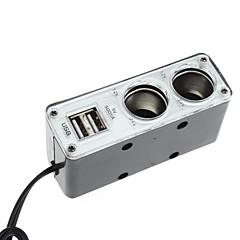 Universal-Multifunktions-WF-0200 USB 2-Wege Auto Zigarettenanzünder-Netzteil-Splitter