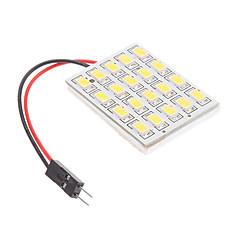 T10/BA9S/Festoon 4.5W 20x5730SMD Natural White Light LED lamp voor in de auto leeslamp (12V)