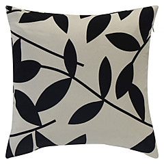 Polyester Pillow Cover , Floral Country