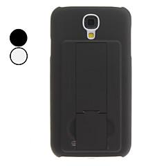 Solid Color Hard Case mit Ständer für Samsung Galaxy i9500 S4 (verschiedene Farben)