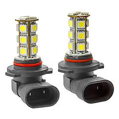 9005 3.5W 18x5050SMD 216LM 6000-6500K White Light LED Corn Bulb for Car Fog Lamp (DC 12V, 1-Pair)