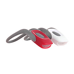 2-Mode Rød + hvid LED Light Tie-On Cykellygter - Pair (2 x CR2025)