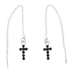 The Cross Anti Minmin Earrings Silver Plated Earring