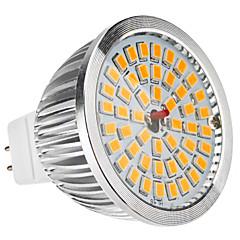 LED spot, MR16(GU5.3) 6.5W 48x2835SMD 520LM, bianco caldo (12V)