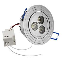 3W 240-270LM 6000-6500K Natural White Light Lâmpada LED de teto (85-265V)