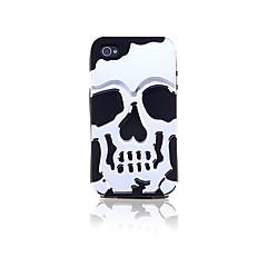 Verwijderbare Skull Silica Gel Case voor iPhone 4/4S (verschillende kleuren)