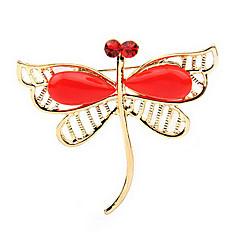 Broche de la libélula de forma (color al azar)