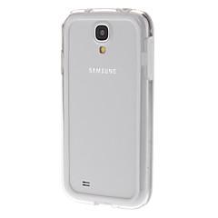 Transparent Skyddande Bumper Ram för Samsung Galaxy S4 I9500