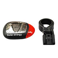 Luci bici , Luci di coda - 1 Modo Lumens Altro Solare Ciclismo/Bicicletta / Multiuso Nero / Rosso Bicicletta Others