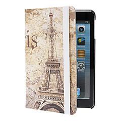 Retro Eiffel Tower Pattern Case w/ Stand for iPad mini 3, iPad mini 2, iPad mini