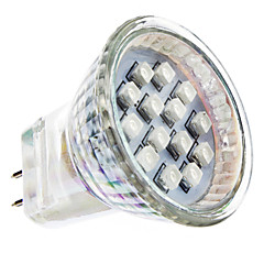 1W GU4(MR11) Spot LED MR11 14 SMD 3528 lm Rouge AC 100-240 V