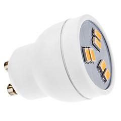 2W GU10 Żarówki punktowe LED MR11 6 SMD 5630 180 lm Ciepła biel AC 220-240 V