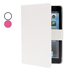 padrão de grade caso w ranhura / cartão e ficar para mini-ipad 3, mini iPad 2, iPad mini (cores opcionais)
