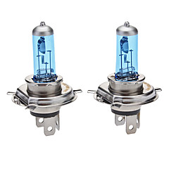 H4 Super White Car glödlampor 100W (2-Pack/DC 12V)
