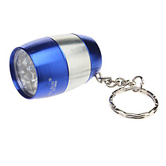 Smallsun ZY-8866 single-mode 6xLED zaklamp met sleutelhanger (80LM, 2xCR2032, Blauw)
