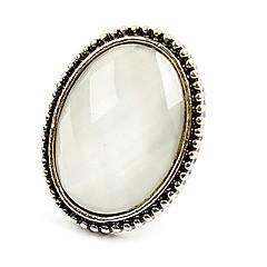 anéis de pedras preciosas do vintage das mulheres
