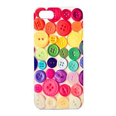 Joyland abs kleurrijke knoppen patroon achterkant van de behuizing voor de iPhone 5/5s