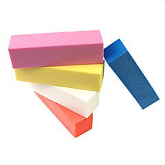 Buffer lijado Block Art Nail Archivo 2pcs (color al azar)