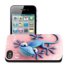 Gecko Pattern 3D Effect Case for iPhone4/4S