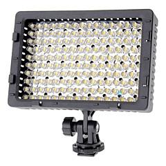 NanGuang CN-160 160 LED 9.6W 720LM 5400K de la lumière DV de griffe pour appareil photo caméscope - Noir