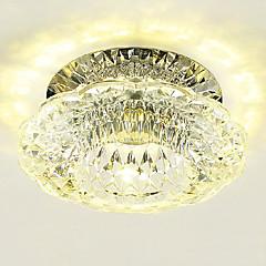 3W Modern/Contemporary Crystal / LED / Mini Style Flush MountLiving Room / Bedroom / Dining Room / Kitchen / Bathroom / Study Room/Office