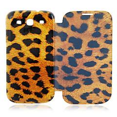 Leopard Läderfodral till Samsung Galaxy S3 I9300