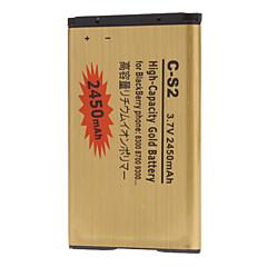C-S2 2450mAh batteria del telefono cellulare per il telefono BlackBerry 8300 8700 9300