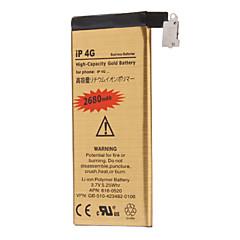 Batteria del telefono cellulare 2680mah per il iphone 4