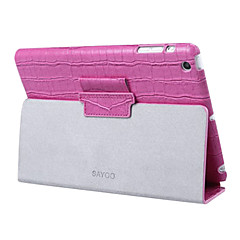 SAYOO Alligator Pattern Protect Case for iPad mini 3, iPad mini 2, iPad mini