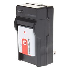 NP-BG1 np-FG1 batteri med oplader til Sony DSC-W100 T100 W120 W150 W200 W290 W300