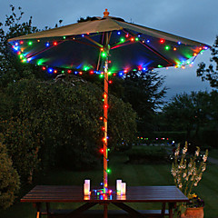22m énergie solaire multicolore fée guirlande lumineuse lampe noël décor de jardin de noce de 200 LED