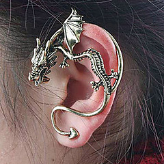 Earring Stud Earrings / Clip Earrings Jewelry Women Daily Alloy