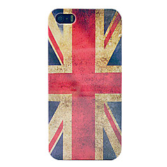 vindima union jack bandeira caixa de plástico rígido para o iPhone 5/5s