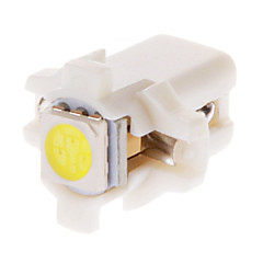 B8.5D 1x5050SMD 10 20LM 6000K Cool White Light LED pære til bil (12V, 10pcs)
