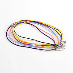Classic Round Assorted Color Acrylic Cord & Wire(10 Pcs/Lot)(Assorted Color)