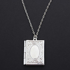 Fashion Silver Plated Locket Necklace