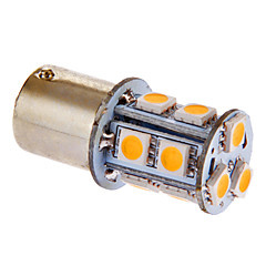 BA15S/1156 3W 13x5050SMD 117LM 3000-3500K Warm White Light LED-lamppu auton (DC 12V)