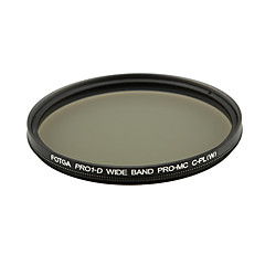 Fotga Pro1-D 67mm Ultra Slim Mc Multi-Coated Cpl cirkulære polarisationsfilter Lens Filter