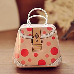Handbag Tin Box Desktop Storage Box(Assorted Color)