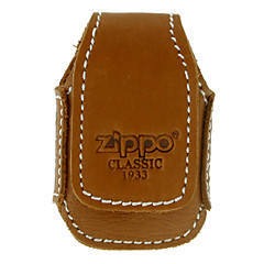 Zippo Brown Leather Case petróleo ligero