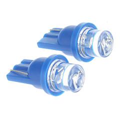 T10 0.2W Blue Light LED Bulb for Car (DC 12V,2 pcs)