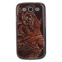Leopard peinture Motif de couverture de caisse en aluminium arrière dur pour Samsung Galaxy S3 I9300