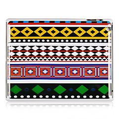 Etnisk stil mønster plast tilbake tilfelle for iPad 2/3/4