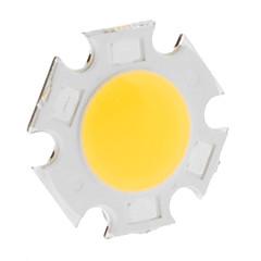 DIY 5W 420-500LM 3000K Θερμό 300mA Ενότητα LED λευκού φωτός Ολοκληρωμένη (15-17V)