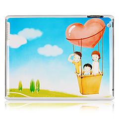 Perhe kuvio muovi takakannen iPadille 2/3/4